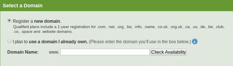 iPage Domain Registration